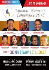 2015 women's conference flyer
